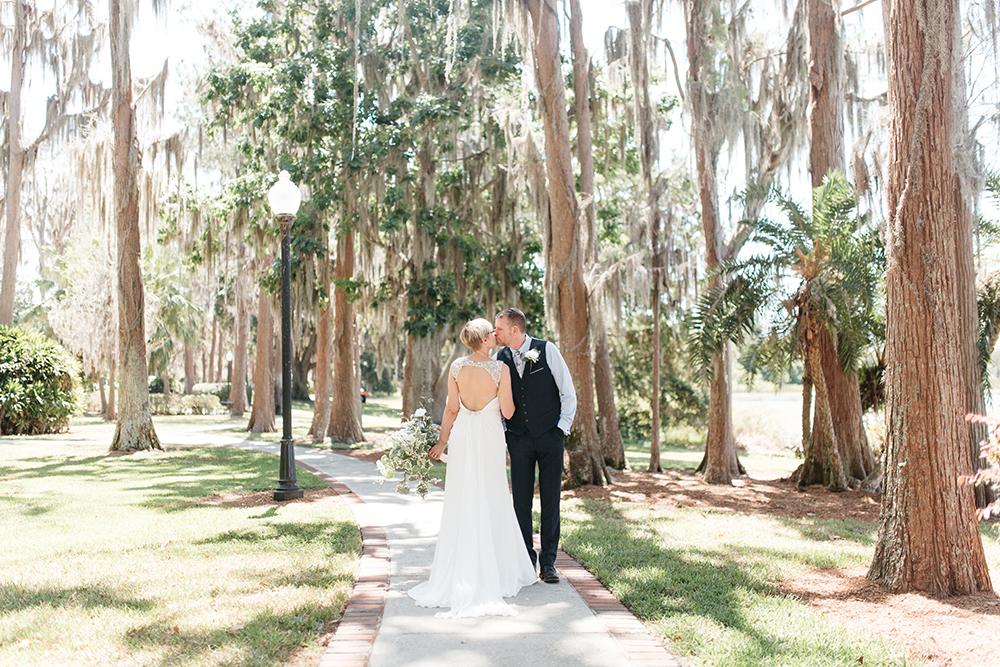 Cypress Grove Estate House, Orlando Wedding, Lakeside Wedding, Bridal Gown, Outdoor Wedding, Central Florida Wedding Venues, Intimate Wedding, Destination Wedding, Bride and Groom Photos