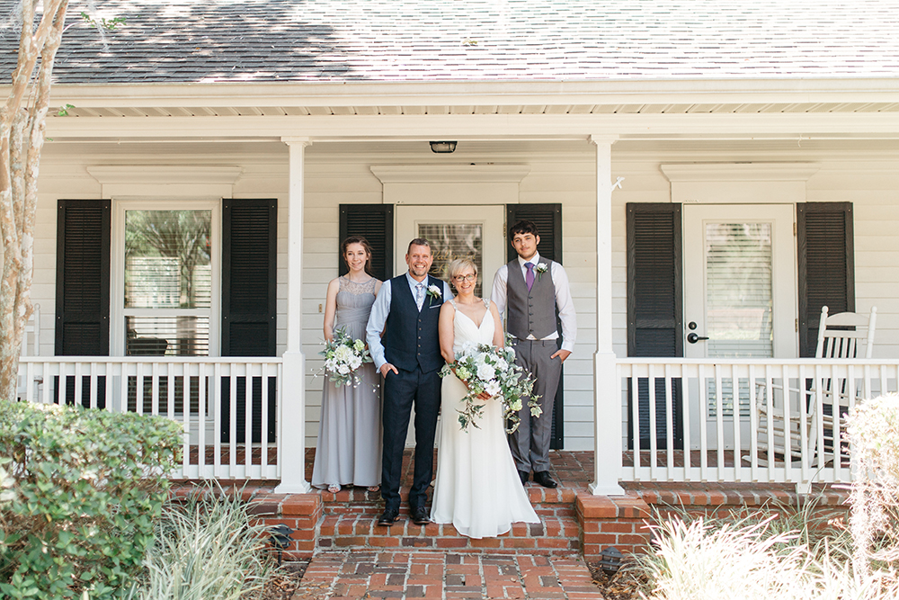 Cypress Grove Estate House, Orlando Wedding, Lakeside Wedding, Bridal Gown, Outdoor Wedding, Central Florida Wedding Venues, Intimate Wedding, Destination Wedding, Family Photos