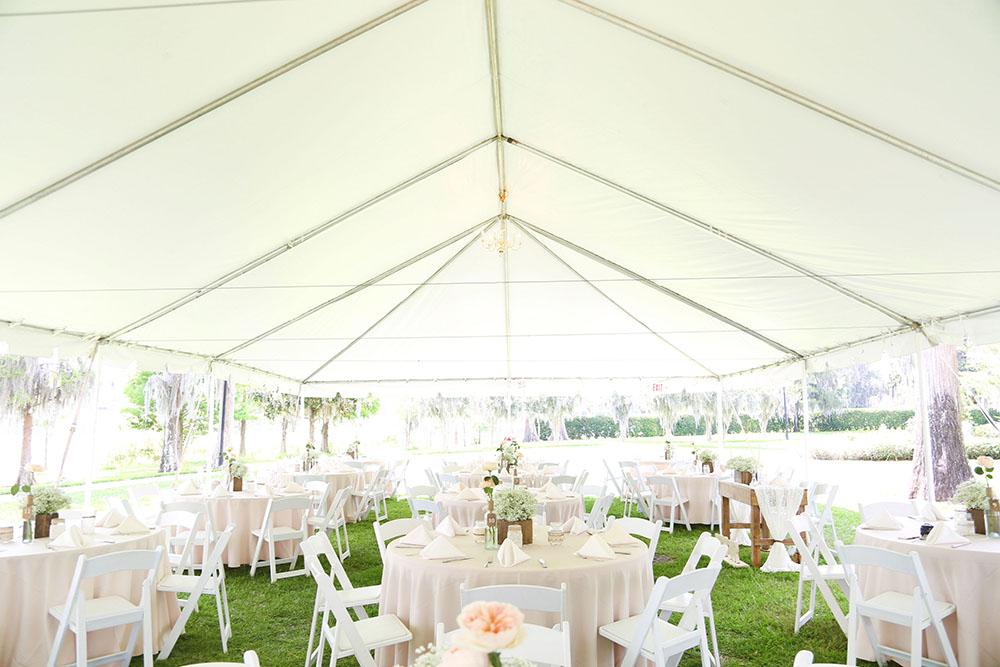 cypress grove estate house, orlando southern estate, tent wedding orlando