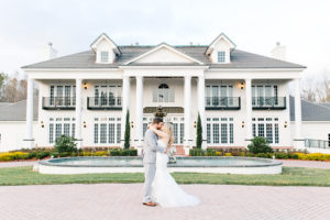orlando wedding venue, luxury wedding venue, estate wedding, indoor wedding venue, ballroom wedding, luxmore grande estate, bride and groom photos, private estate wedding, fountain