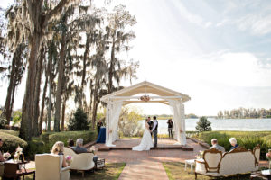 Cypress Grove Estate House, Orlando Wedding Venues, Central Florida Wedding Venues, Lakeside Wedding, Outdoor Wedding, Elegant Wedding, Southern Wedding, Destination Wedding, Intimate Wedding, White Ceremony Draping, RW Events, Orlando Wedding Stylist, Orlando Vintage Rentals, Orlando Wedding Designer, Pink Wedding Decor, Vintage Wedding Decor, Ceremony Seating