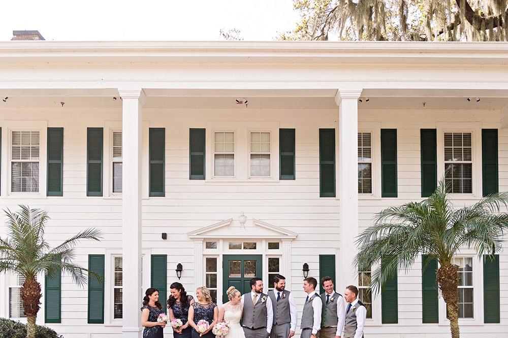 Cypress Grove Estate House, Orlando Wedding Venues, Central Florida Wedding Venues, Lakeside Wedding, Outdoor Wedding, Elegant Wedding, Southern Wedding, Destination Wedding, Bride and Groom Photos, Bridal Party Photos, Intimate Wedding