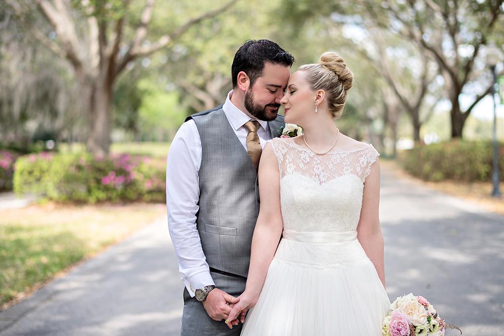 Cypress Grove Estate House, Orlando Wedding Venues, Central Florida Wedding Venues, Lakeside Wedding, Outdoor Wedding, Elegant Wedding, Southern Wedding, Destination Wedding, Bride and Groom Photos, Intimate Wedding, Lace Bridal Gown