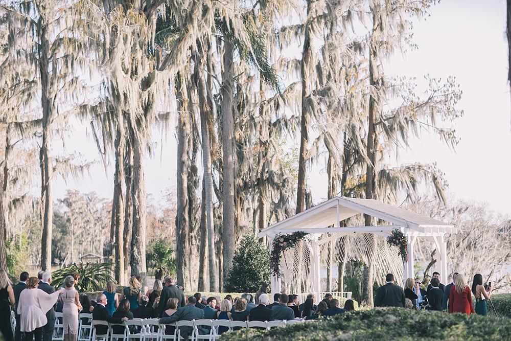Orlando Event Stylist Designer Wedding Cypress Grove Estate House Outdoor Lakeside Boho