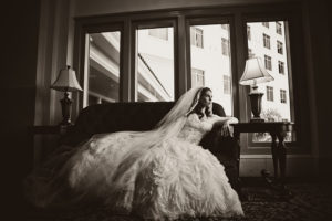 Orlando Event Stylist, Orlando Event Designer, Orlando Wedding, Ballroom Wedding, Couture Bridal Gown, Black and White Bridal Portrait, Bridal Portrait, Bridal Session, orlando wedding stylist, orlando wedding designer