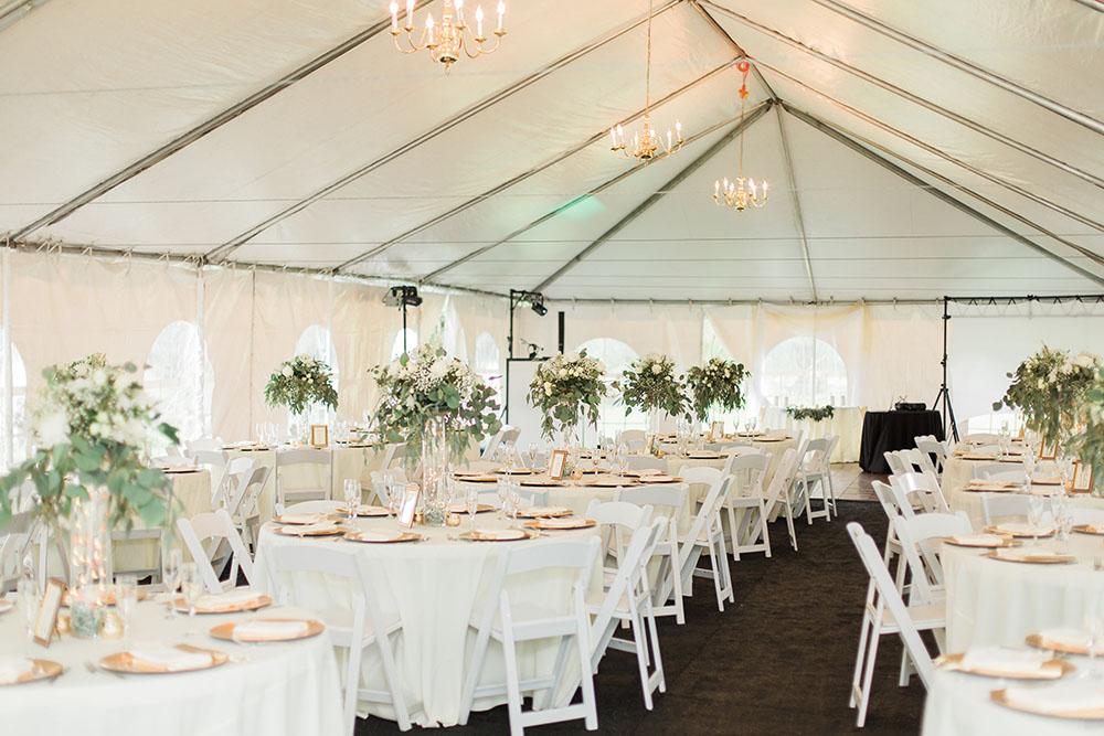 Cypress Grove Estate House Tented Reception White Wedding Decor Orlando Wedding Venues & Tent Weddings u2013 RW Events