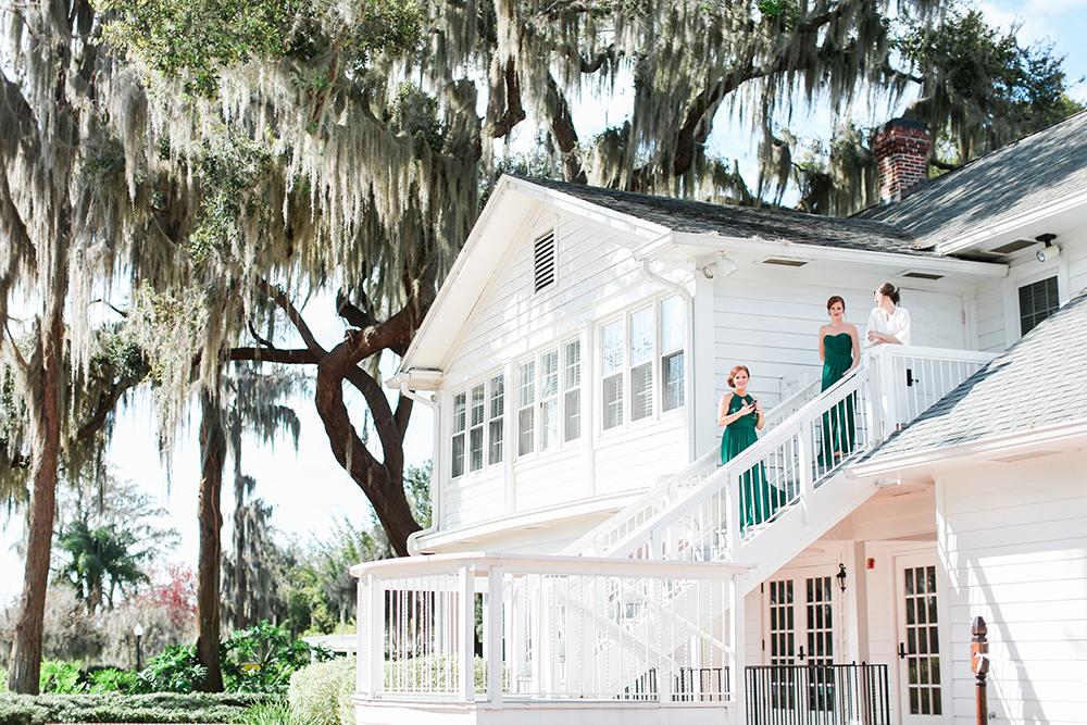Cypress Grove Estate House, Orlando Wedding Venues, Central Florida Wedding Venues, Lakeside Wedding, Outdoor Wedding, Southern Wedding, Rustic Wedding, Classic Wedding, Plantation Home, Green Bridesmaid Dresses, Emerald Bridesmaid Dresses