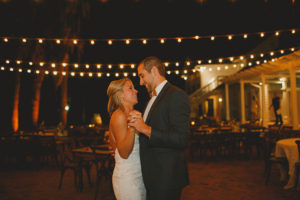 Cypress Grove Estate House, Outdoor Wedding, Lakeside Wedding, Central Florida Wedding Venues, Orlando Wedding Venues, Bride and Groom Photos, Last Dance, Market Lighting, Farm Tables,