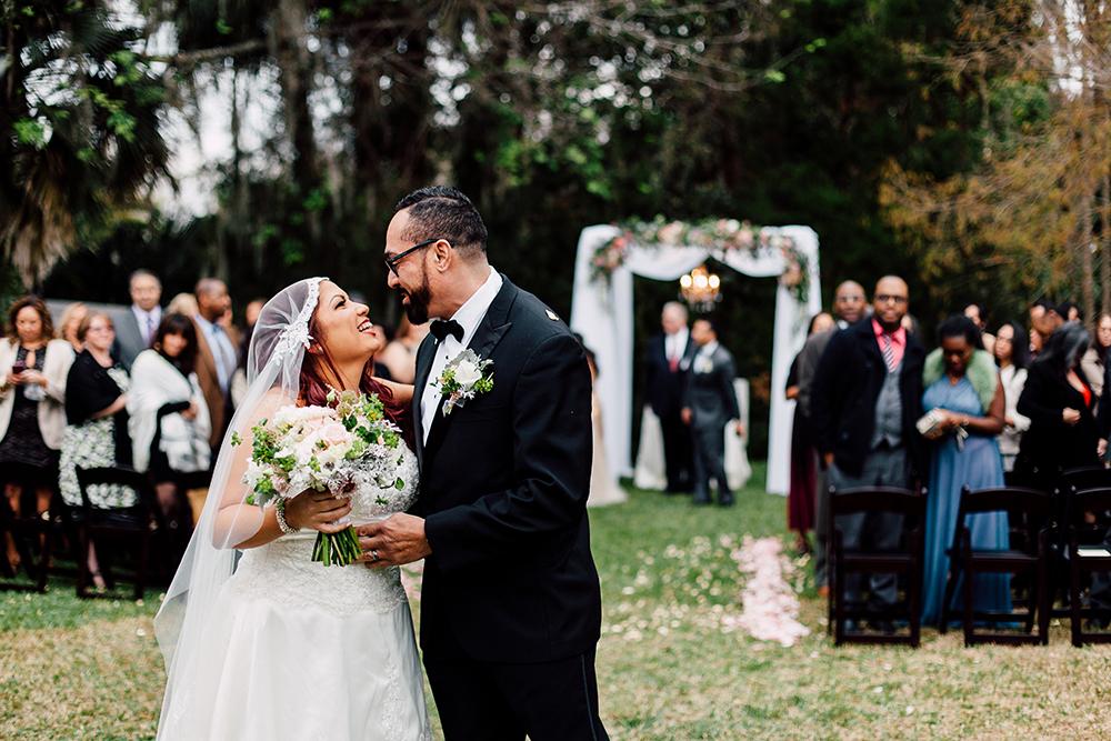 Garden Wedding, outdoor venue, indoor venue, orlando wedding venue, newly wed