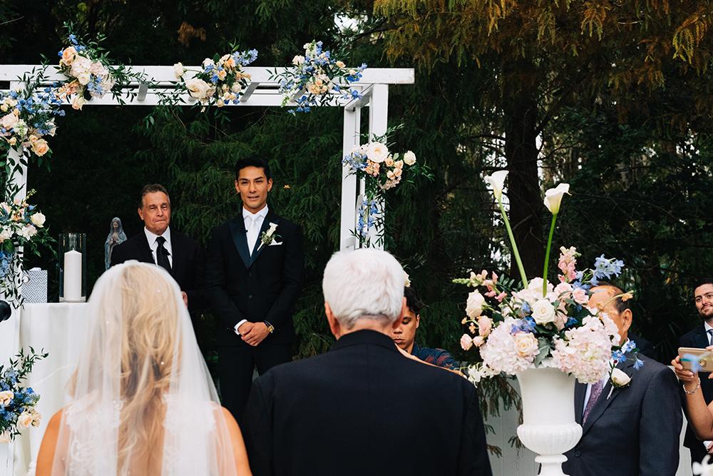 Orlando garden wedding, garden ceremony, luxury orlando wedding, Luxury outdoor ceremony, central florida outdoor venue,