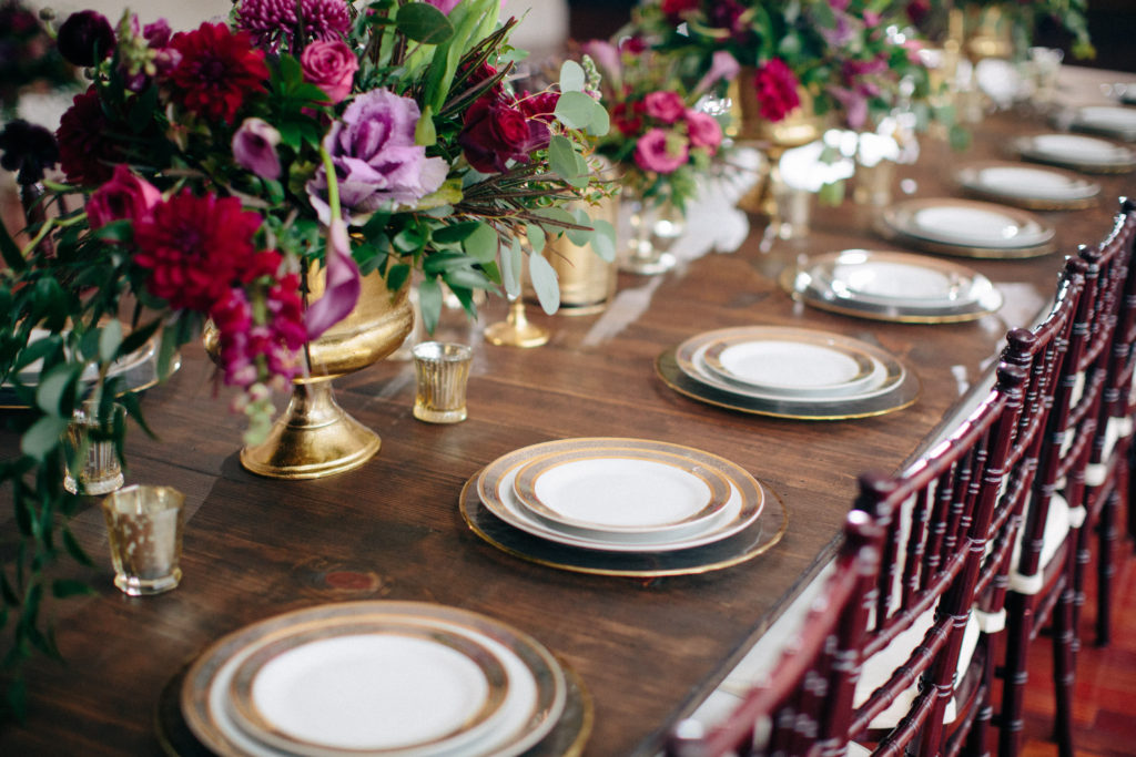 farmhouse table, floral inspiration, feasting table, orlando specialty rentals