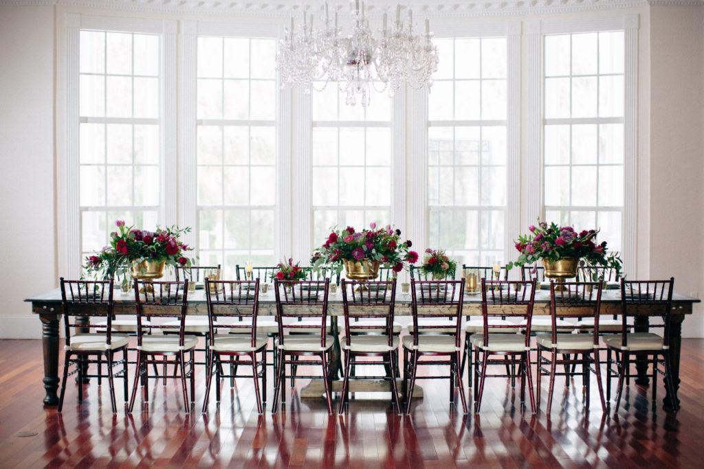 farmhouse table, farm table, feasting table, orlando vintage rentals