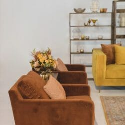 Lounge Chairs + Ottomans