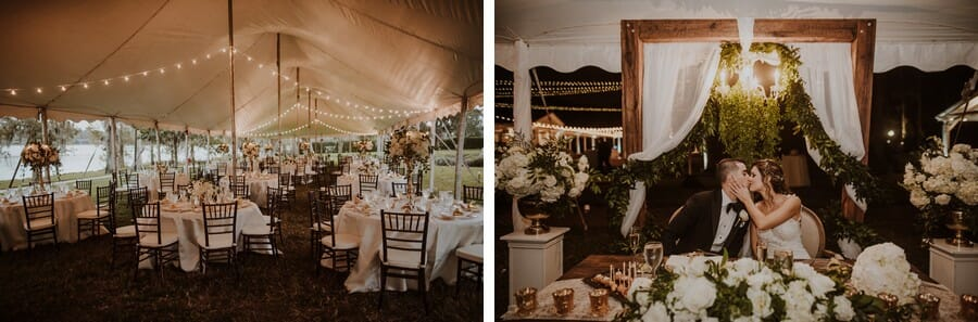 Sperry tents are some of our favorites! They're inviting and have such a unique feel!