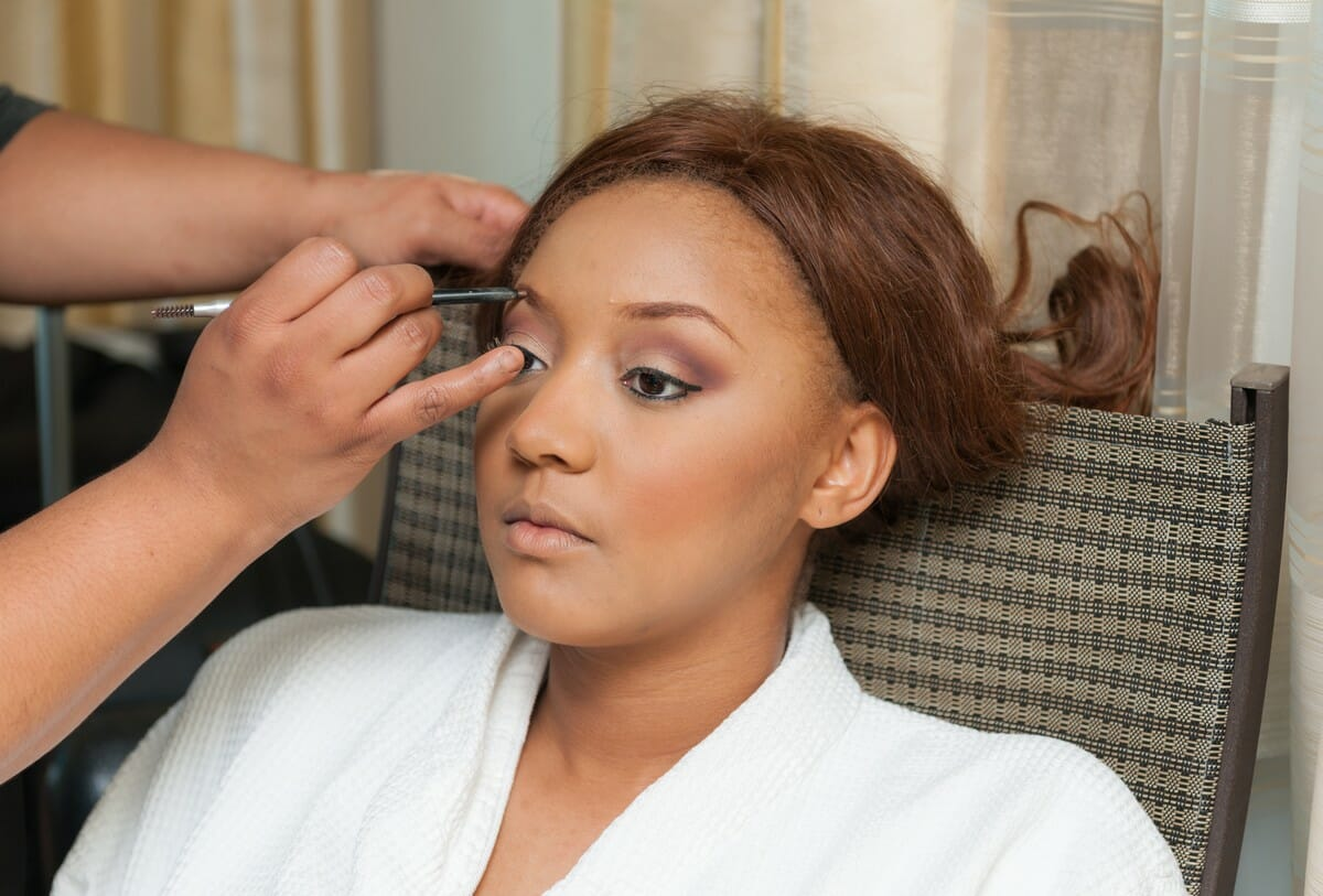 Prep for your beauty trial by gathering inspiration images of your hair and make-up.
