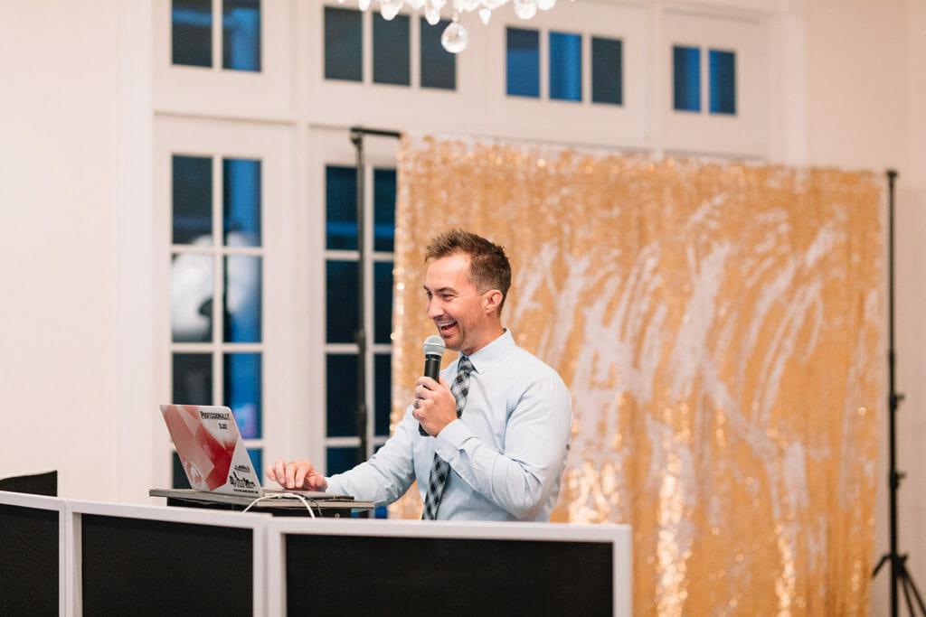 DJ Justin Kornaker hosting trivia!