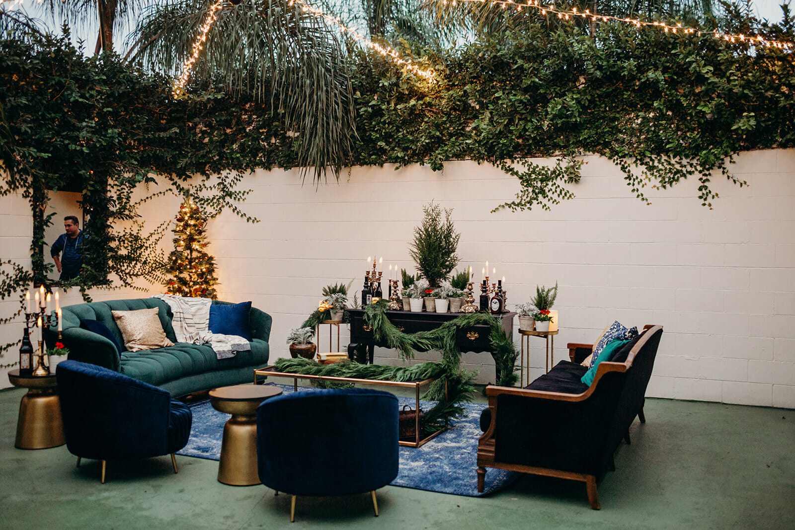 Jewel Toned Lounge at The Acre Orlando