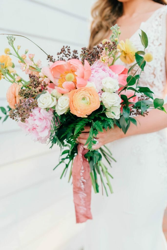 Summer Floral | Bold Bridal Bouquet
