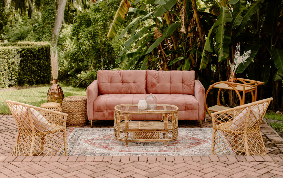 Tropical Decor | Our newest inventory pairs perfectly with tropical inspired decor.
